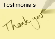 Read Testimonials